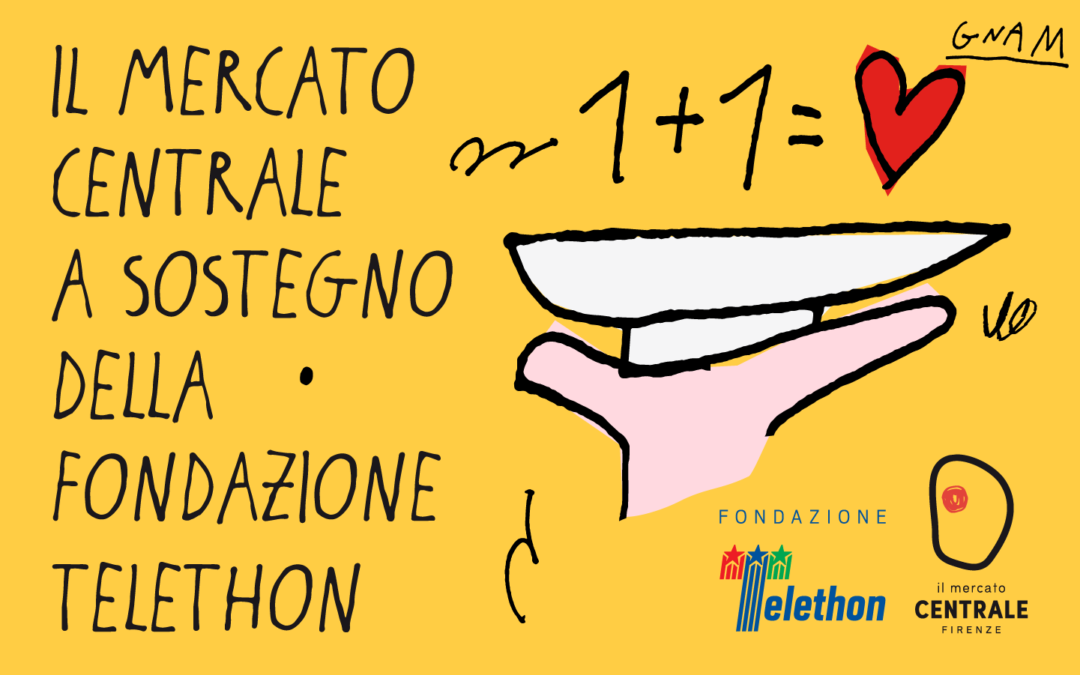 Goodness in support of the Fondazione Telethon
