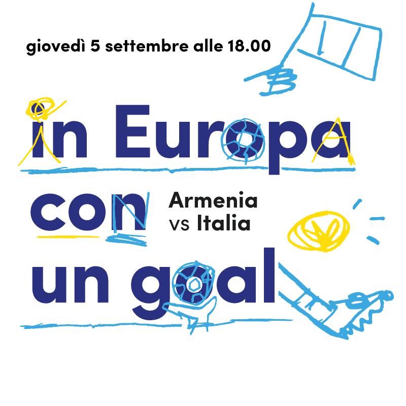 Mercato Centrale Roma | in Europa con un goal - Armenia Vs Italia