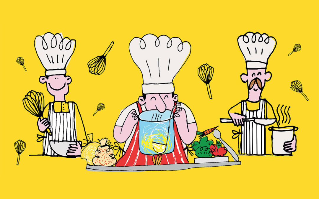 A cooking school for Oxfam Italy