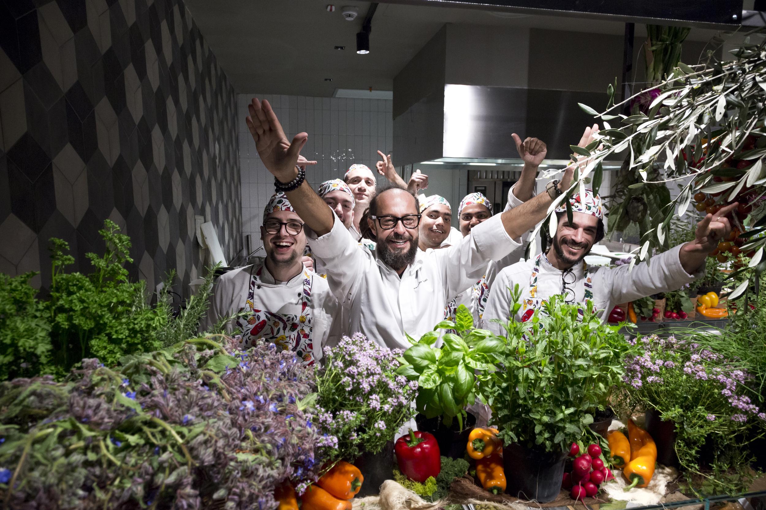 Mercato Centrale Torino   Le verdure - La fata verde - Marcello Trentini